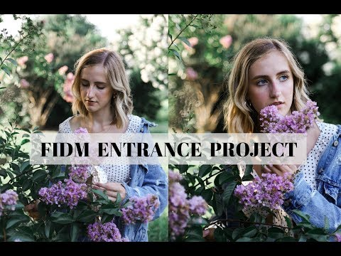 FIDM 2018 entrance project: Marketing and Merchandising (ACCEPTED)