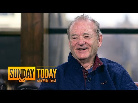 Bill Murray Gives Wes Anderson An 'Automatic Yes' When He Calls His 1800 Number  Sunday TODAY