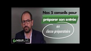 5 conseils pour préparer son entrée en classe préparatoire