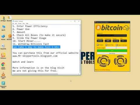 Bitcoin Generator 2017  For Free Adder