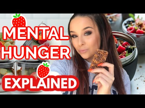 Thinking about food but never feeling physical hungry l Mental Hunger, Food obsession explained