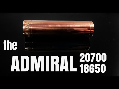 The Admiral 20700/18650 Mech - The Broadside's Big Brother!