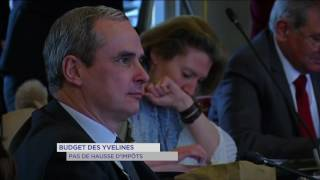 Conseil départemental : vote du budget pour les Yvelines