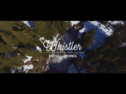 Aerial View Of Whistler BC | DJI Phantom 4