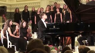 Бетховен Фантазия для ф но хора и оркестра C Moll Хоральная Op 80 Дмитрий Юдин ф но