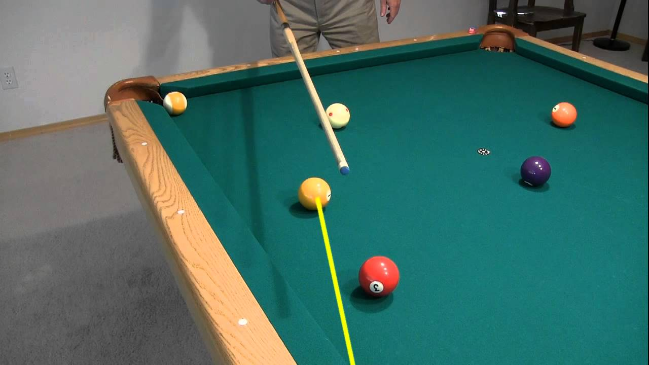 carom and kiss shot aiming billiards and pool principles techniques resources [ 1280 x 720 Pixel ]