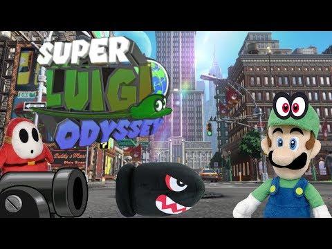 Super Luigi Odyssey (Part 1)