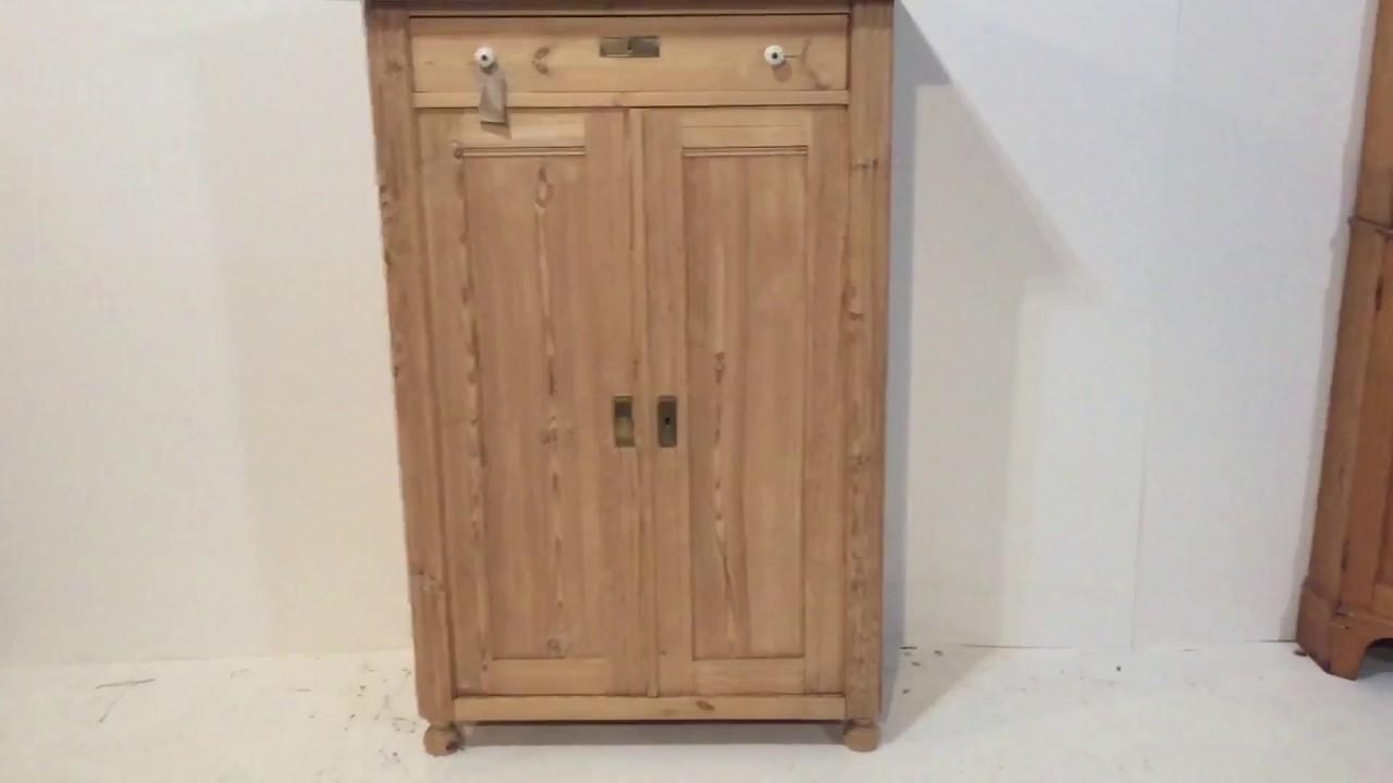 Antique Linen Storage Cupboard /