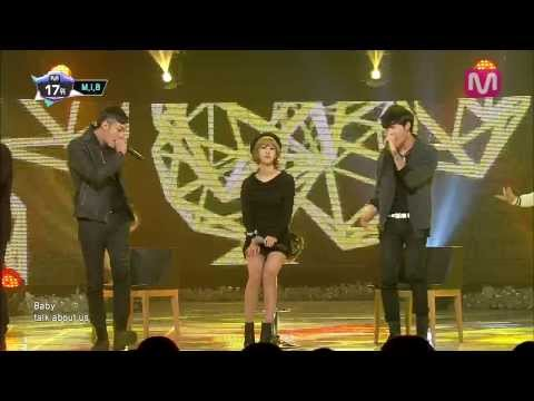 M.I.B_너부터 잘해 (Let's talk about you by M.I.B of Mcountdown 2013.12.19)