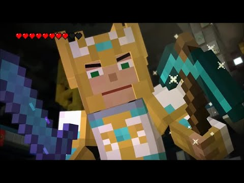 Minecraft Story Mode Female Playthrough Episode 8 A Journey's End Full Playthrough