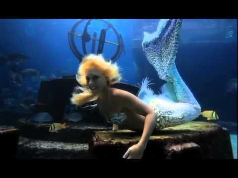 Mermaid at Atlantis Bahamas