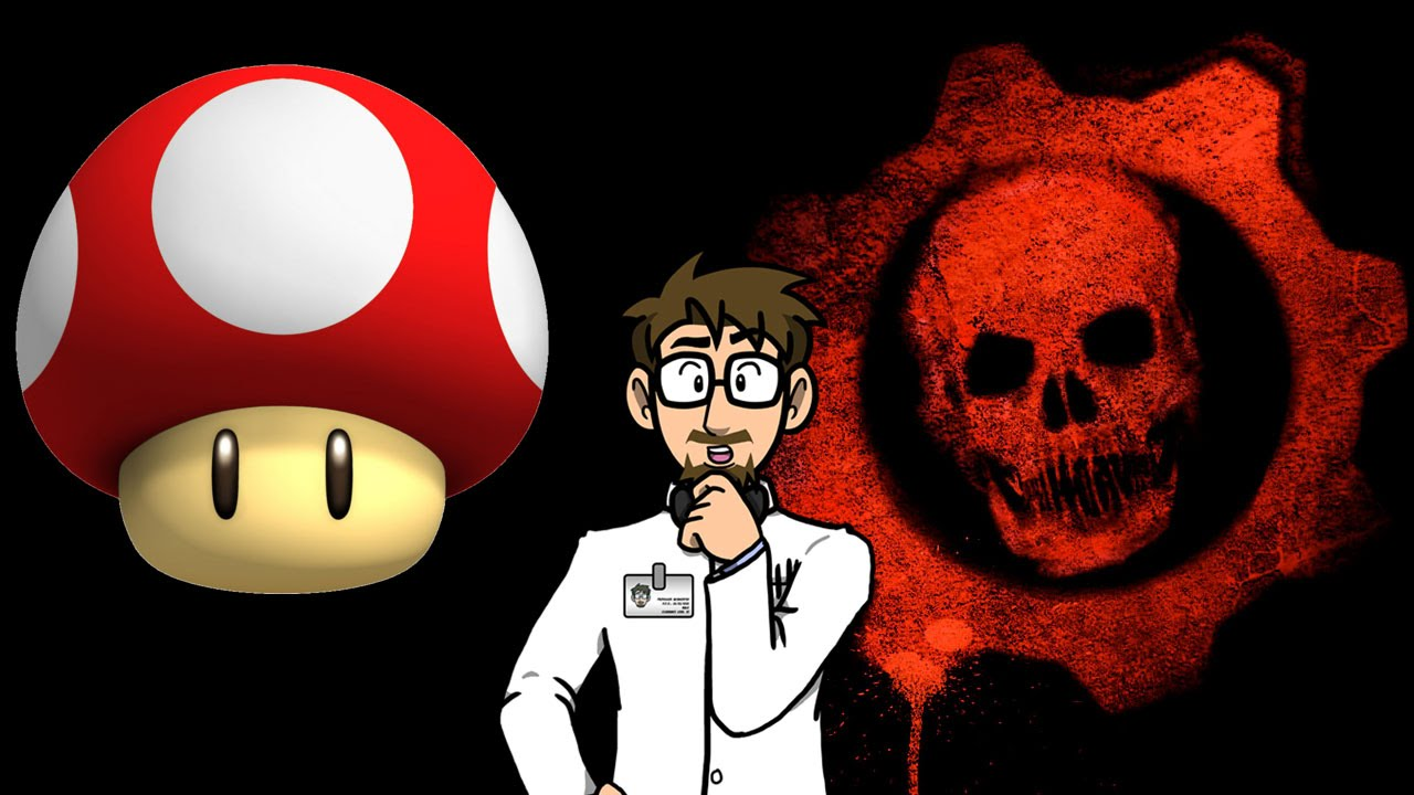 mario is in gears of war crossover remastered youtube
