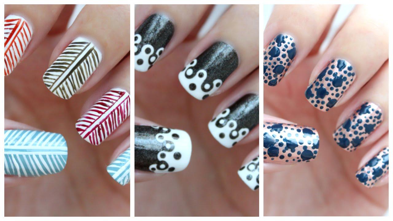 Easy Nail Art For Beginners | www.pixshark.com - Images ...