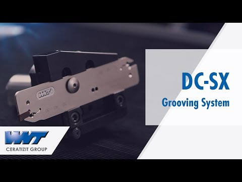 WNT DirectCooling DC-SX Grooving System with Internal Coolant Supply