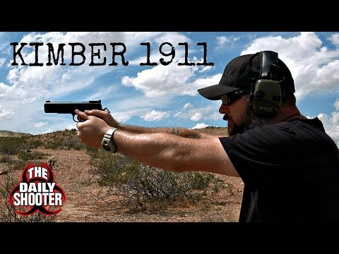 Breaking in the Kimber Custom II Target 1911 Fail or Win?