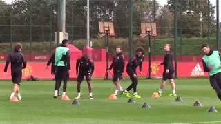 United prepare for Basel clash