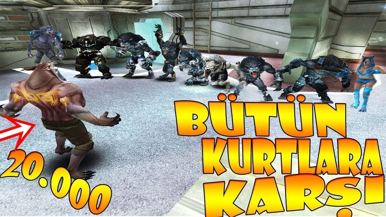 10 BİN CANLI ZEKİ KURT VS 8 LAV KURDU !! ÖDÜLLÜ KOVALAMACA :D