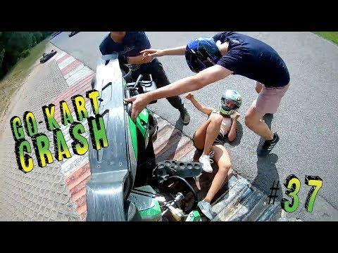 Go Kart Crash Compilation #37