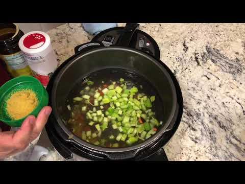 How to make potato soup with ham