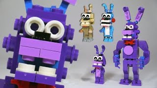 how to Build Lego FNAF - Five Nights at Freddy's Foxy