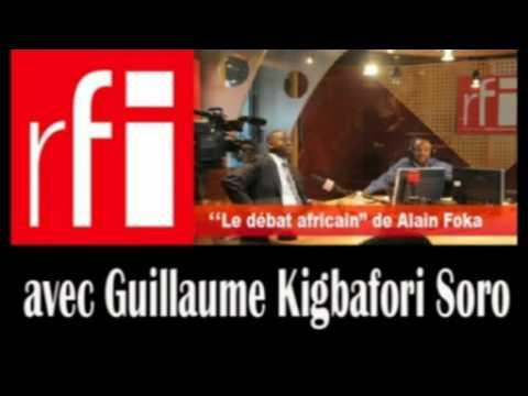 Entretien avec Guillaume Soro dans le Debat Africain sur RFI