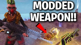 NEW Modded Weapon is insane!! 😱😂 (Scammer Get Scammed) Fortnite Save The World