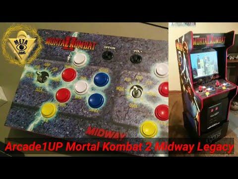 Arcade1up Mortal Kombat 2 Legacy built played reviewed from Meta Gang