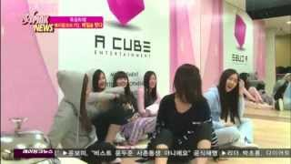 A Pink Funny Moment #2: Bomi and Namjoo Imitation Face Off