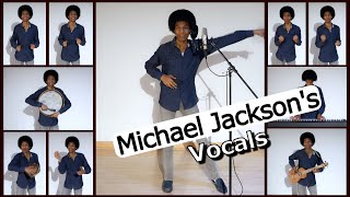 "Me Singing Michael Jackson's AMAZING Harmonies  ""Off the Wall"" Live Looping"