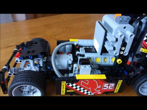 lego technic camion de course 42041 youtube. Black Bedroom Furniture Sets. Home Design Ideas