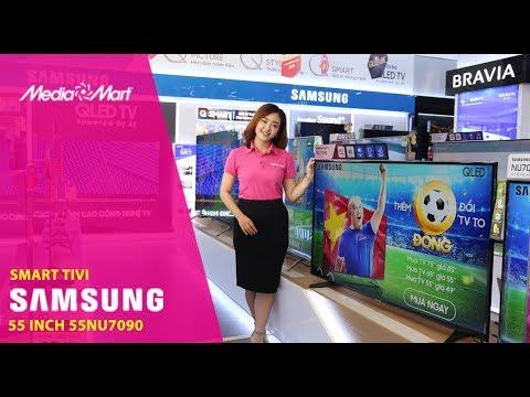 Smart Tivi Samsung 4K 55 Inch 55NU7090 - Hàng Hot, Quà Ngon