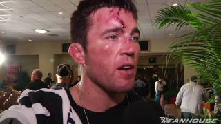 Chael Sonnen says he feels horrible following UFC 109