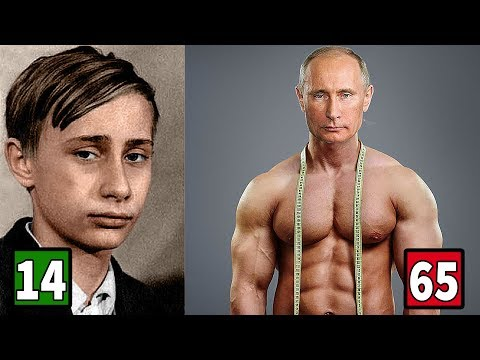 Vladimir Putin Transformation 2018 || From 6 to 65 Years Old