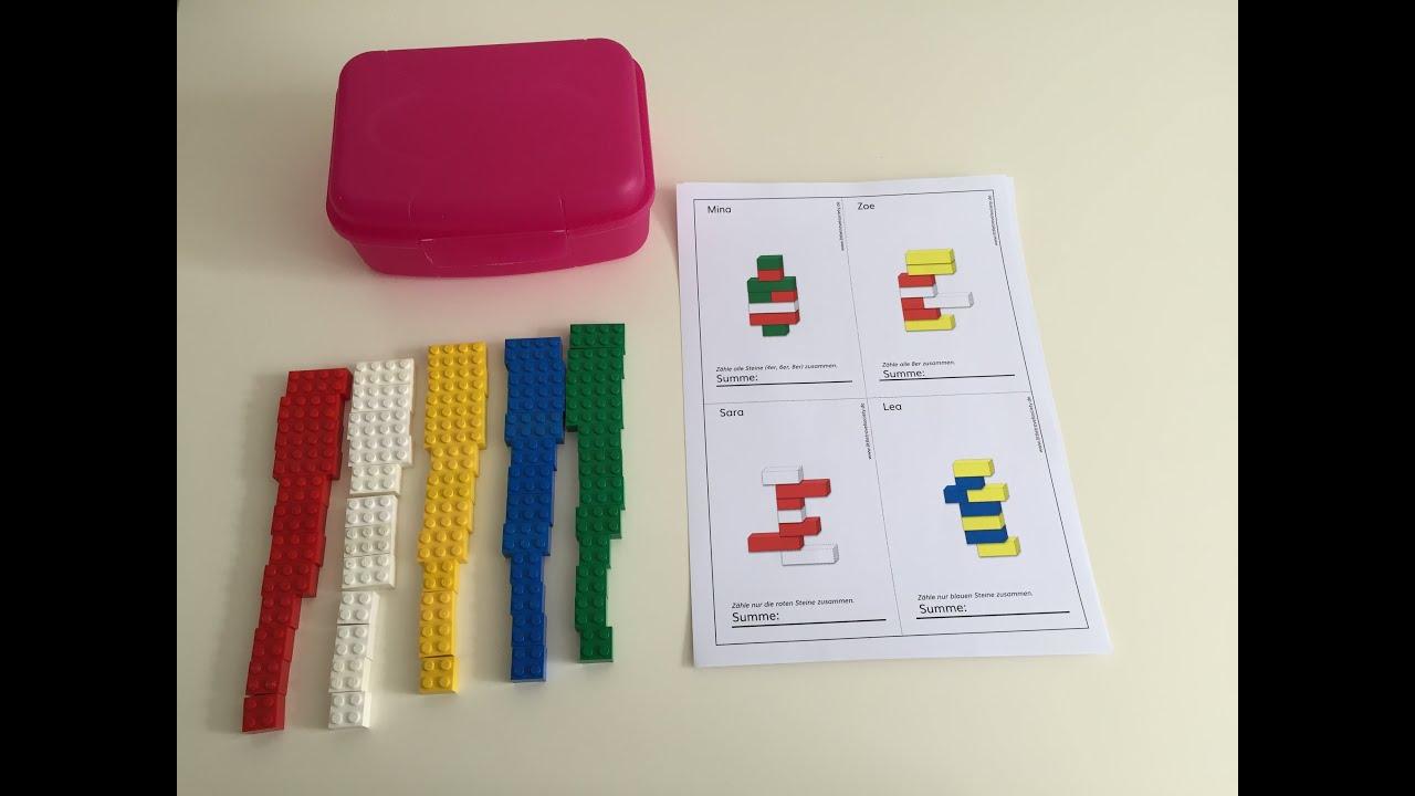 26 Lego Buchstaben Wunderwerkstatt