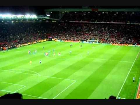 Manchester United Vs Chelsea Final Whistle - Glory Glory Man Utd Chant