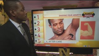 Manly Minute: Shaving Your Armpits