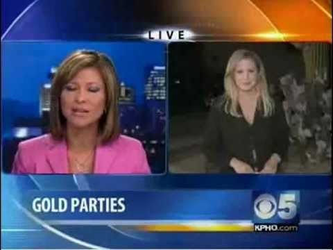 Gold Buyer Phoenix | CBS 5 Report - Valley Goldmine Gold Party | Sell Gold Phoenix