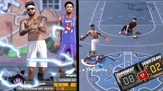 HELPING NEGATIVE RECORD FRIEND FIX RECORD! 4X ANKLE BREAKERS! NBA 2k18 Playground