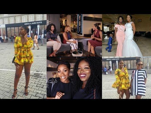 LAYEFA VLOGS: LAGOS LIVING, MEETING DIMMA UMEH, I WAS ON TV, GTB FASHION WEEKEND