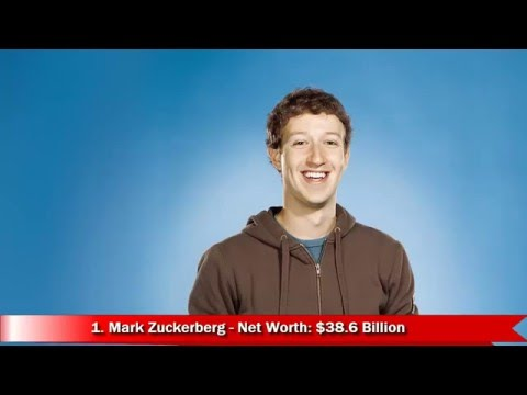 Top 10 Youngest Billionaires In The World 2016