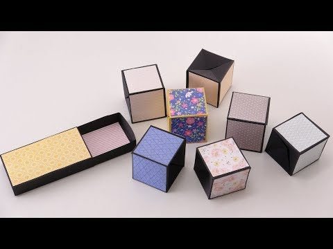 Pop Up Cubes Card Tutorial