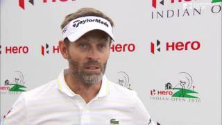 Hero Indian Open (T1) : La réaction de Raphaël Jacquelin