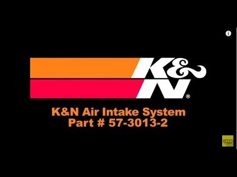 1996-2000 Chevrolet GMC Pickup Suburban Tahoe Yukon Cold Air Intake System Kit K&N 57-3013-2