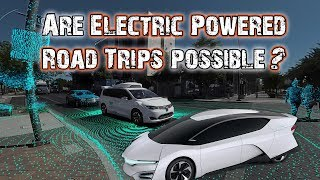 ROAD TRIPS OF THE FUTURE - Solar Powered EVs and Self-Driving Cars