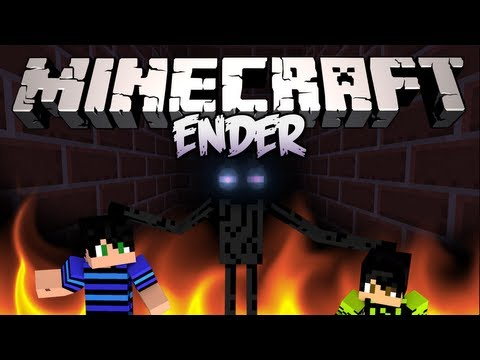 Minecraft: Мини игра #8 - ENDER - А кто же у нас Ээндер?
