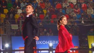 Анастасия Мишина и Александр Галлямов показательный номер шоу Team Tutberidze в Москве