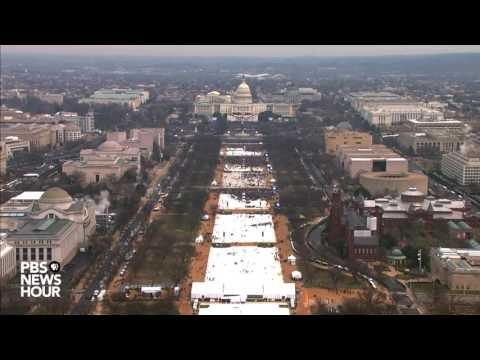 Thumbnail: Watch a timelapse of the National Mall on Inauguration Day