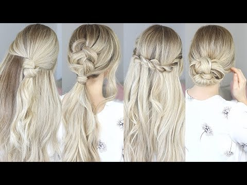 Perfect Hairstyle for Medium Hair and Long Hair