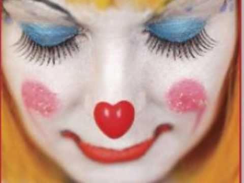 White Face Clown Makeup