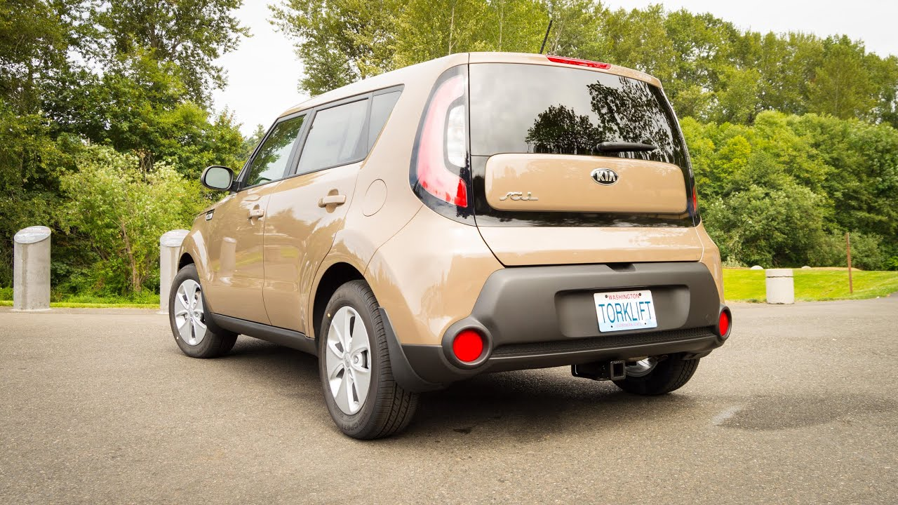 Beautiful 2014+ Kia Soul EcoHitch Trailer Hitch  Torklift Central   YouTube
